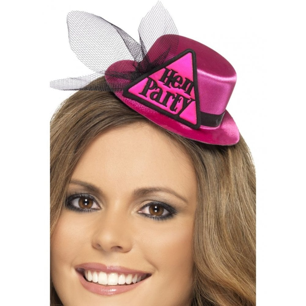 Smiffys Bride to be Warning Boppers Pink