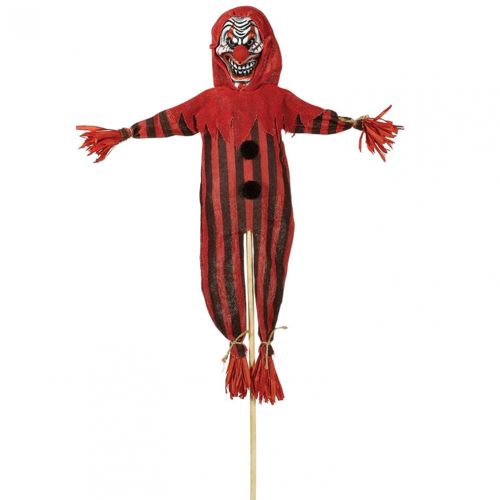Amscan Scary Clown Garden Stake
